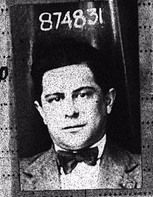 Merchant Navy Seaman Mario Abate, Nizza Monfa, Italy, born 1890
