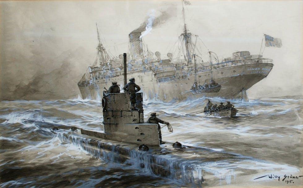 Linda Blanche sunk boy U-boat