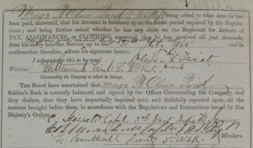 West India Regiment army records