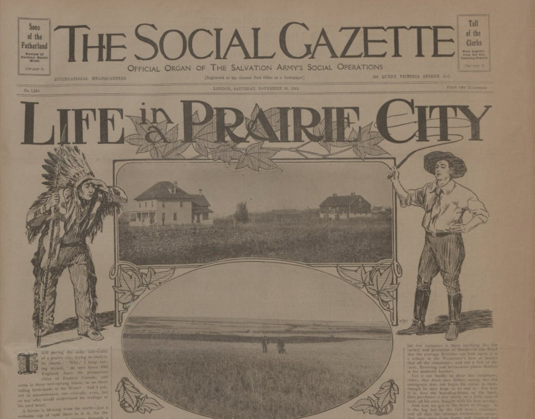 Immigrant guides in newspapers