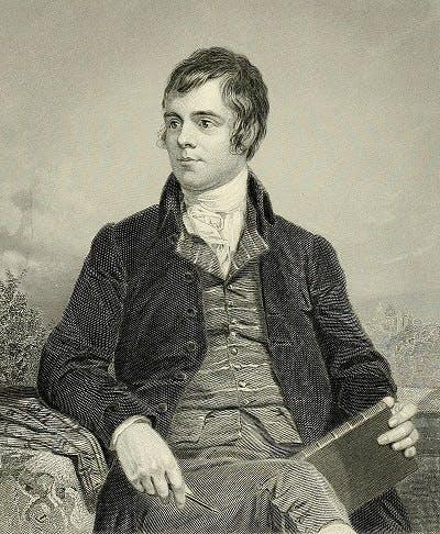 Robert Burns, 1787