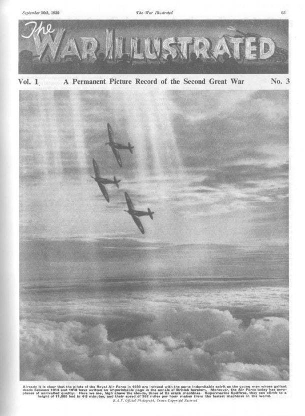 The War Illustrated magazine, 1939