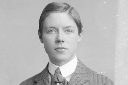 Albert Spencer in Harrow School Photographs
