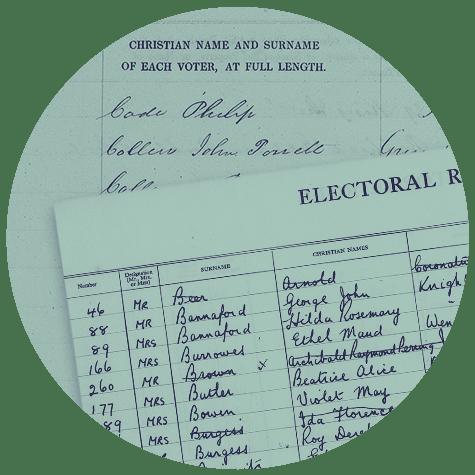 British Library electoral registers