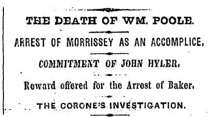 New York Daily Times, March 10th 1885