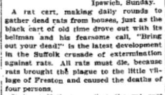 From Washington Post November 14, 1910