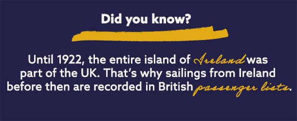 When did Ireland leave the UK?