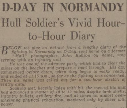 D-Day in Normandy - Hull Daily Mail