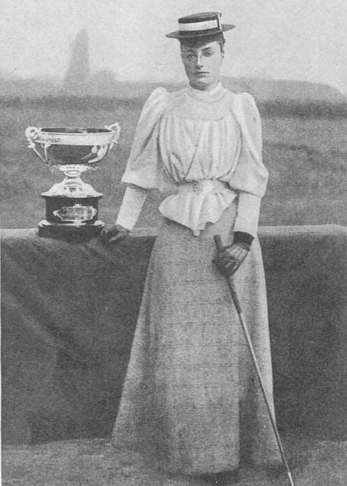 Margaret Scott, first female golfer