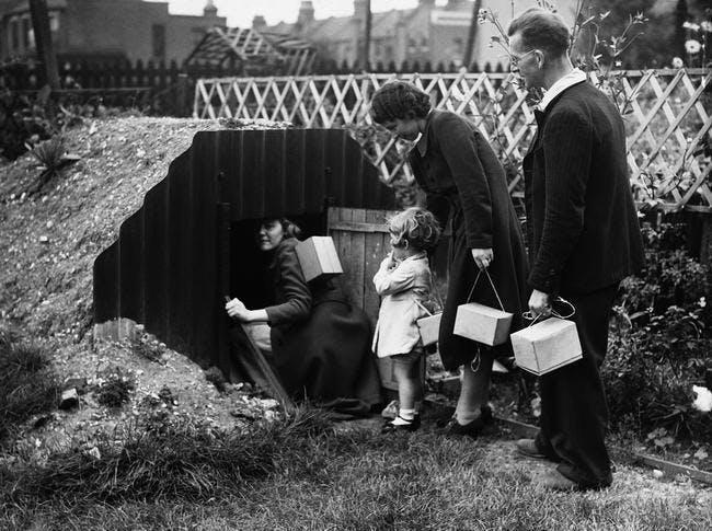 Anderson air raid shelter