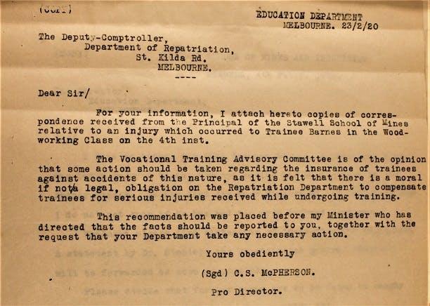 WW1 Repatriation Records, National Archives of Australia.