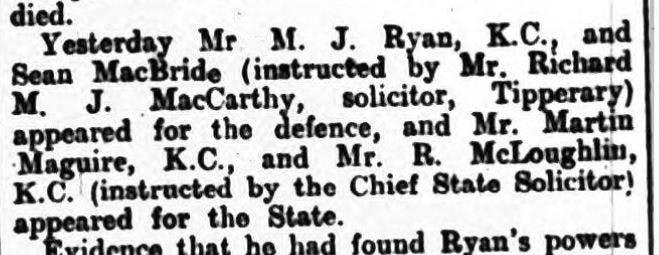 Irish Times archives, 1939