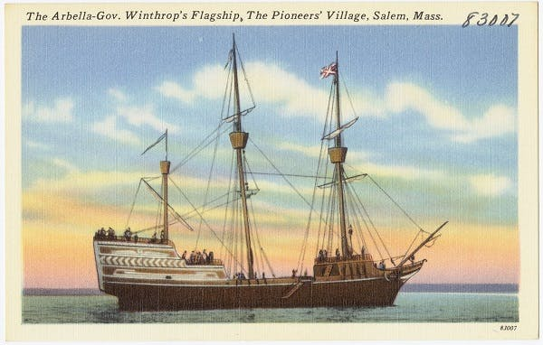 Winthrop Fleet passenger list