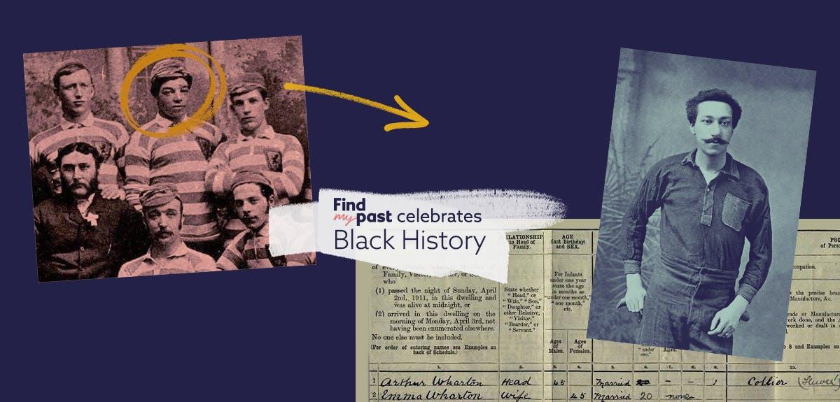 First Black British footballers