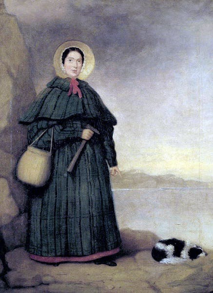 Mary Anning, 1842