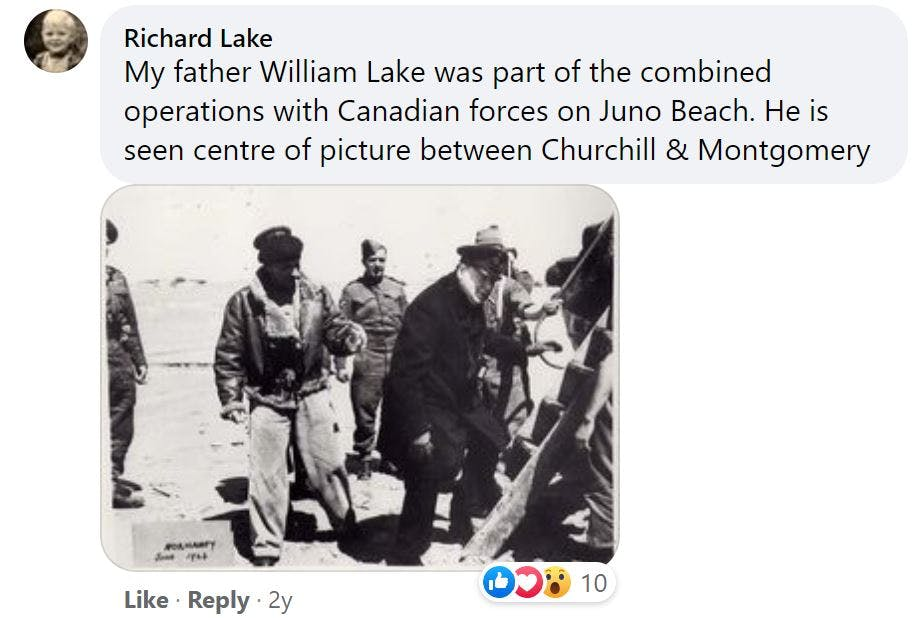 Churchill and Montgomery on D-Day