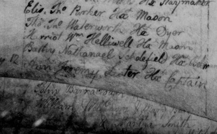 anne lister baptism record