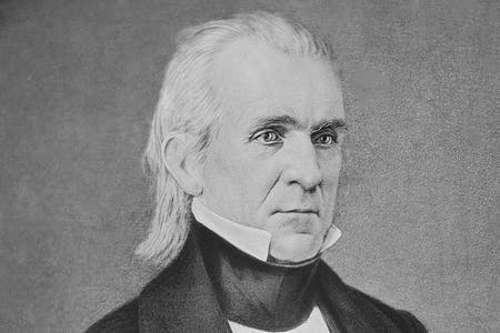 James K Polk's ancestry