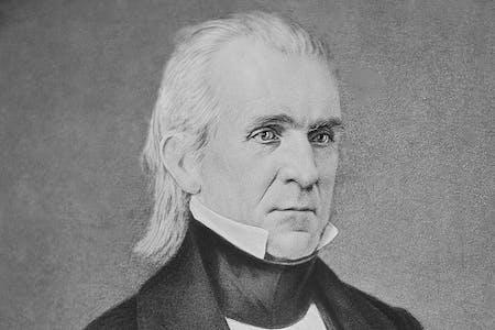 James K Polk's ancestry