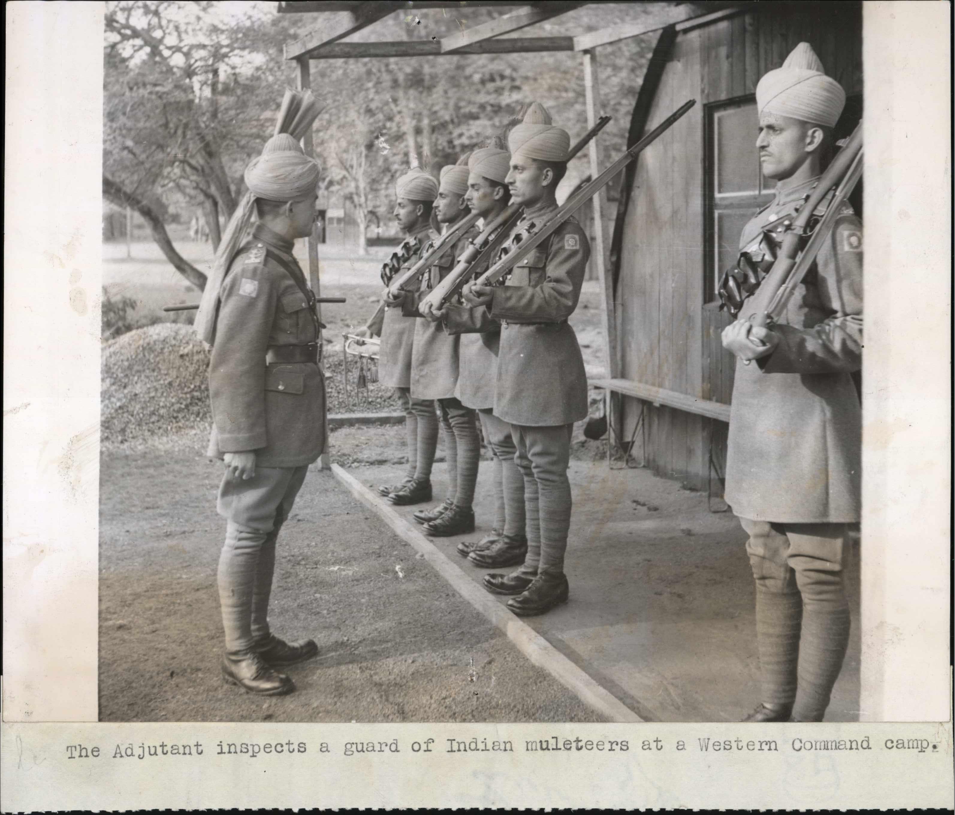 British Indian Army, WW2