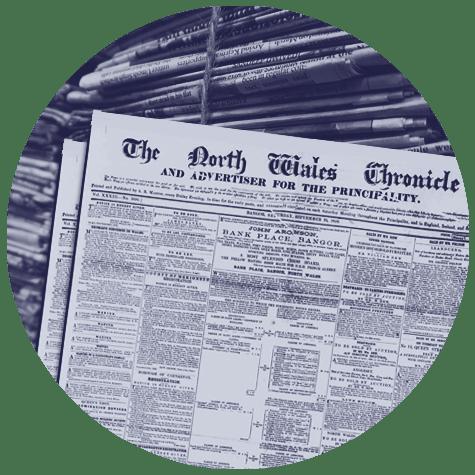 Old British newspapers