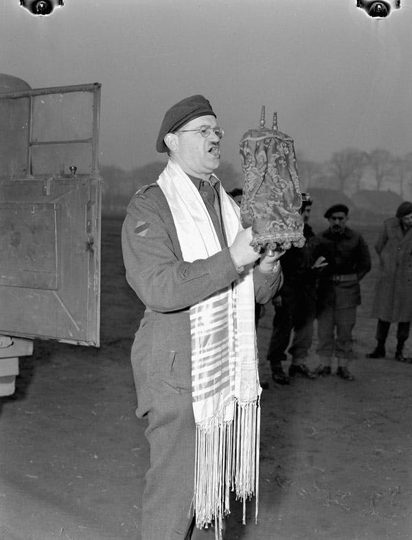 Canadian rabbi, Germany, World War 2