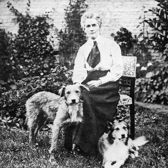edith cavell with dogs