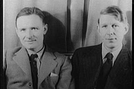 WH Auden and Christopher Isherwood