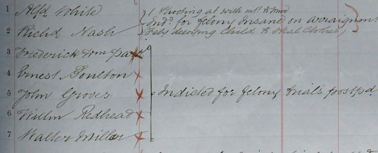 Boulton and park crime record