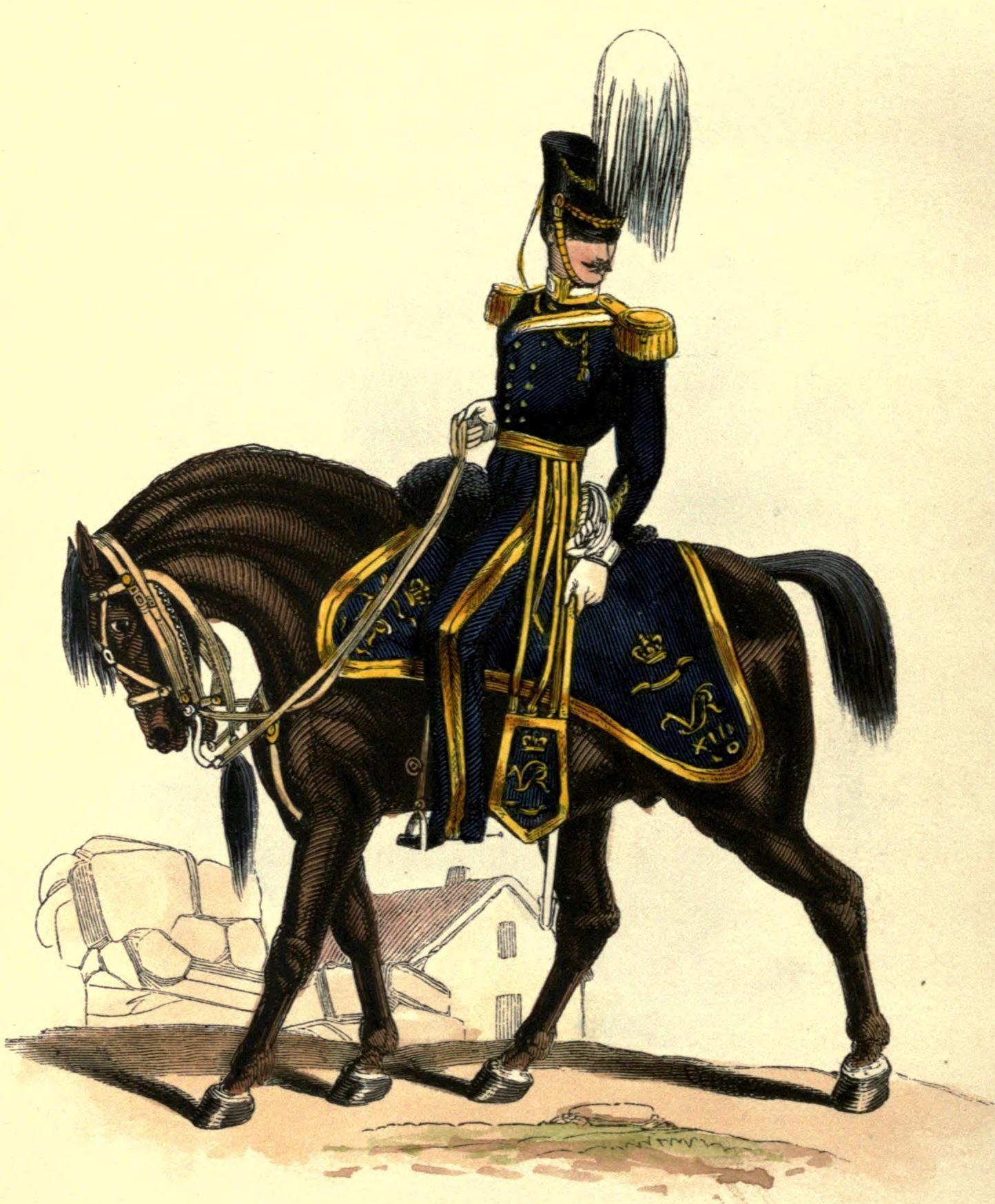 13th Regiment of Light Dragoons uniform