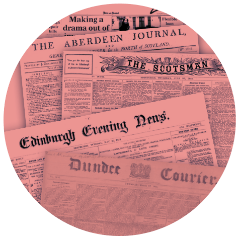 Old Scottish newspapers