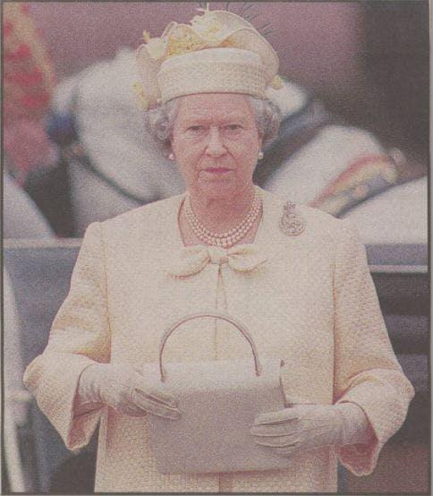 The Queen in 1997