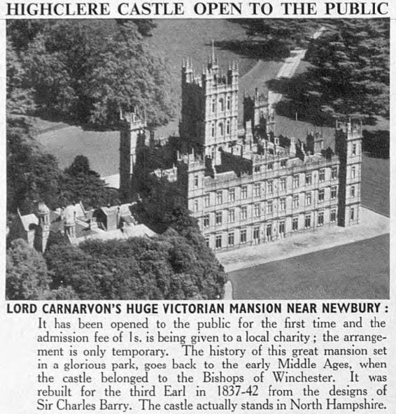 Highclere Castle 1900s