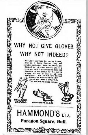 Vintage Christmas advert