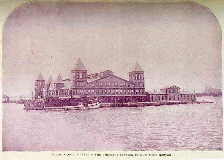 Ellis Island 1890s