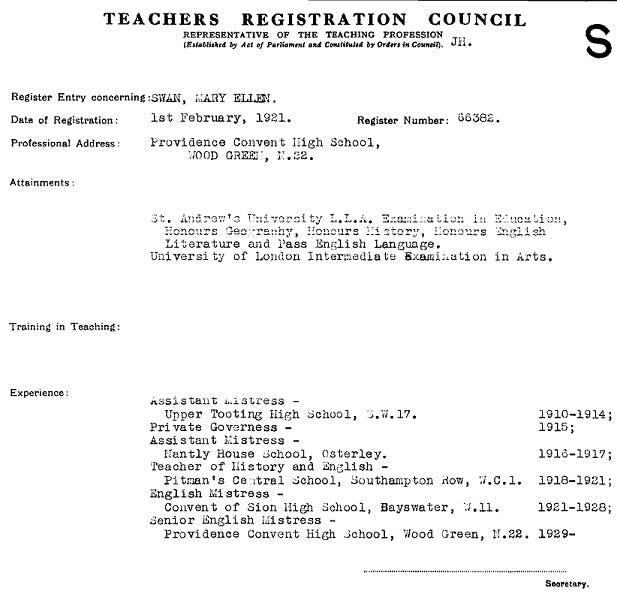 Teacher's records online