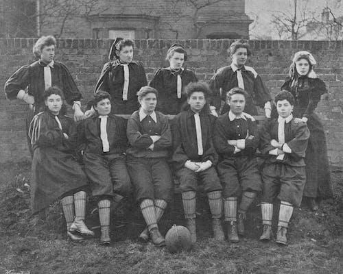 The British Ladies' Football Club in 1895