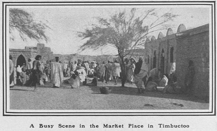 Osman Tisani, Timbuktu