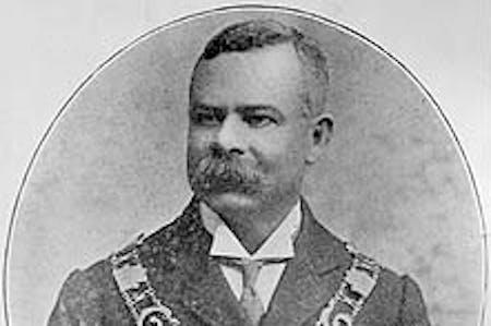 Allan Glaisyer Minns - first Black British Mayor