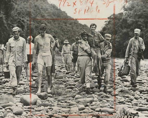 War wounded in Burma, World War 2