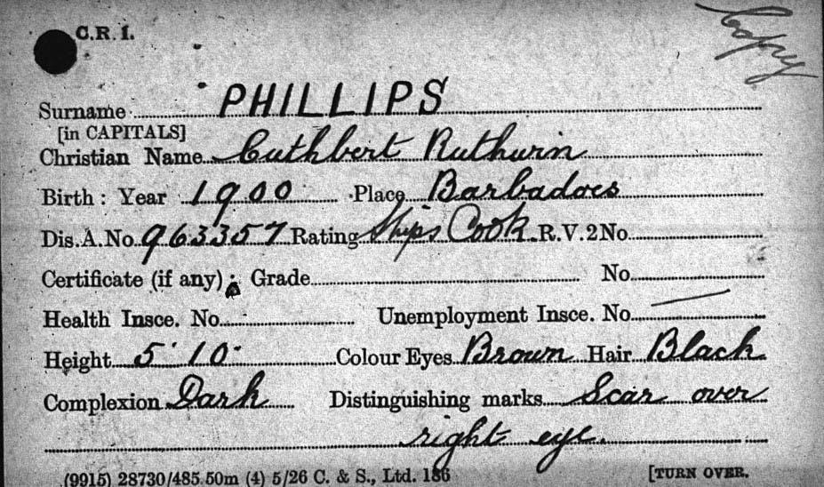 Merchant Seamen records
