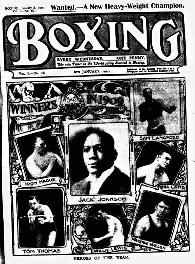 Boxing newspaper archive