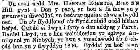Old Welsh newspapers