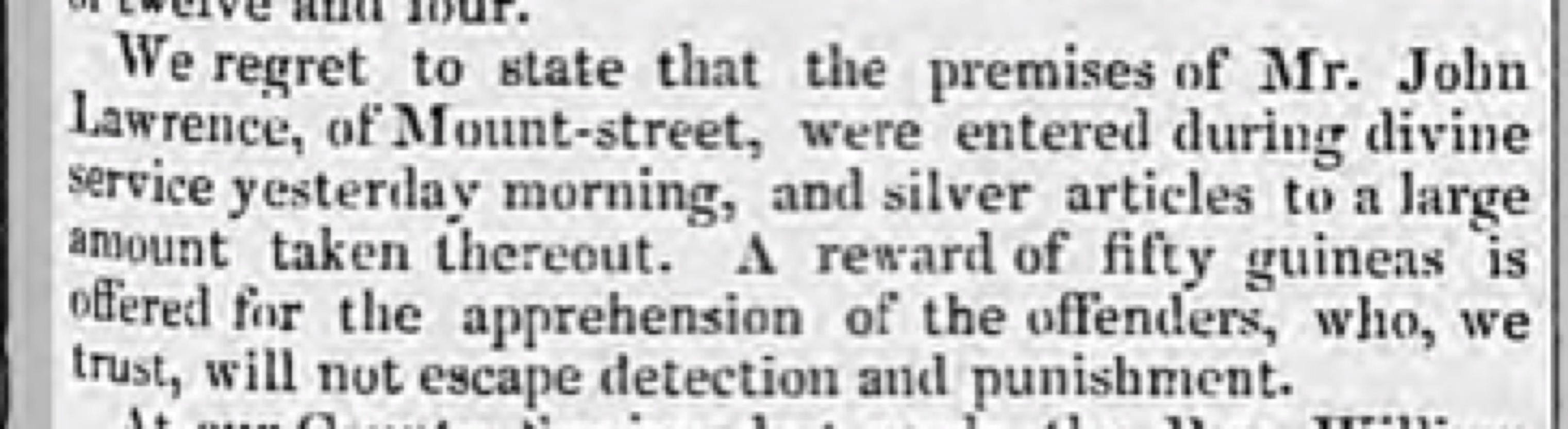 Aris's Birmingham Gazette, 20 October 1828