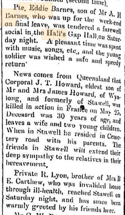 Stawell News and Pleasant Creek Chronicle archives