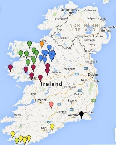 Irish Famine poverty records