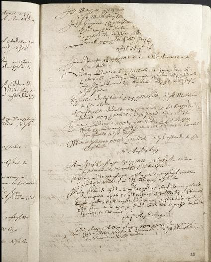 Early British migration records
