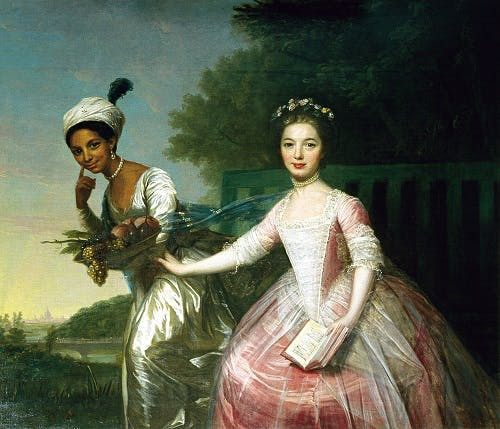 Dido Belle and Elizabeth Murray famous painting