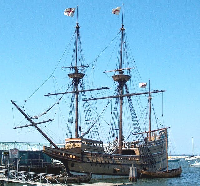 Mayflower II replica