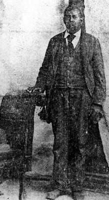 Green Flake, a slave from North Carolina.